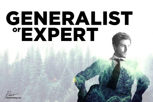 Generalist or a Specialist? Which is Best?
